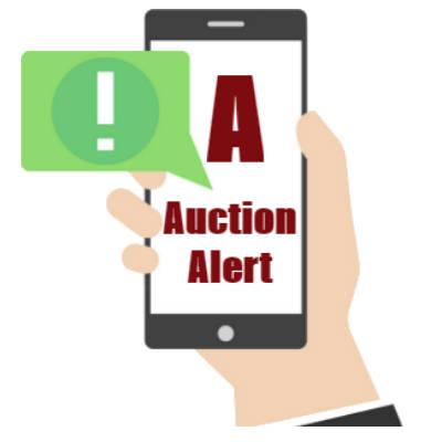 storage auction alerts